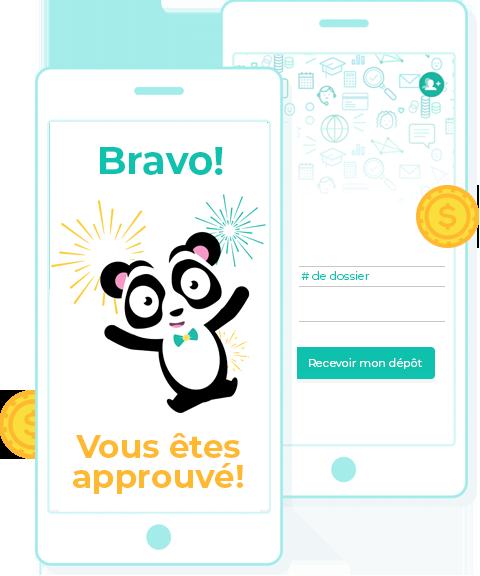 approbation credit panda